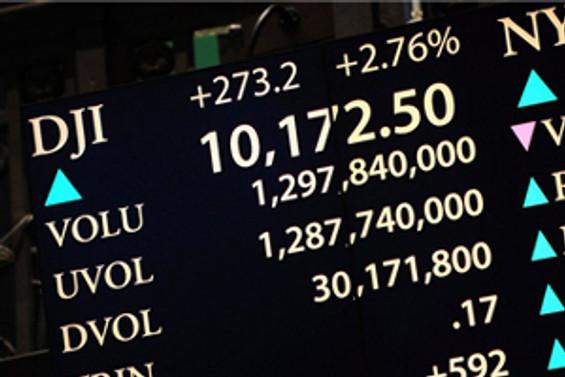 Borsalar yeniden artıda