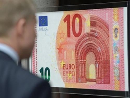 Yeni 10 euroluk banknot yarın tedavüle giriyor