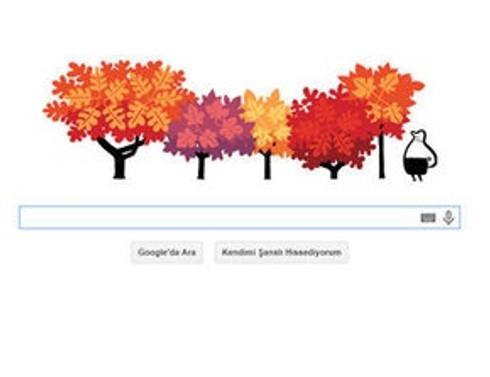 Sonbahar Ekinoksu doodle oldu