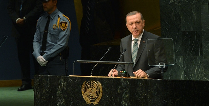 Erdoğan, BM İklim Zirvesi'nde konuştu