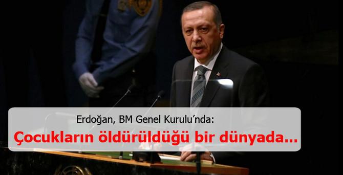 Erdoğan, BM Genel Kurulu'nda konuştu