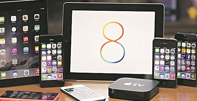 iOS 8 iPhone kullanıcılarını ikiye böldü