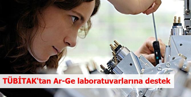 TÜBİTAK'tan Ar-Ge laboratuvarlarına destek