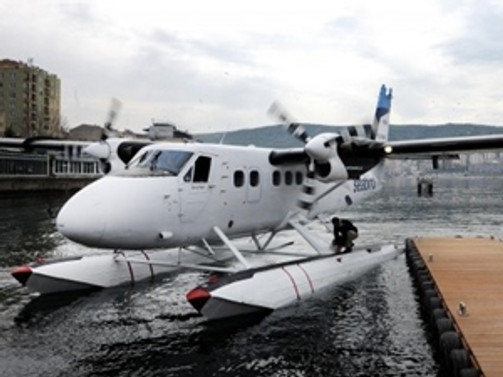 Bandırma-İstanbul deniz uçağı seferleri başladı