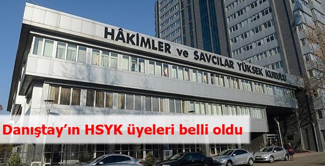 Danıştay'ın HSYK üyeleri belli oldu