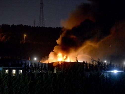 Gıda fabrikasında yangın: 18 ölü