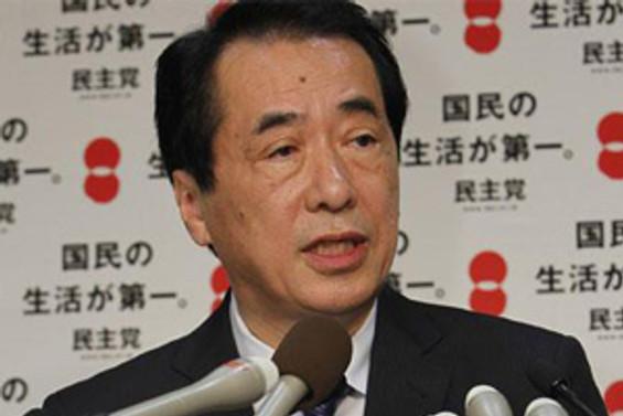 Naoto Kan yeniden seçildi