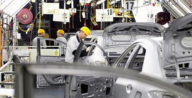 Otomotivde 9 aylık ihracat 17 milyar dolara yaklaştı