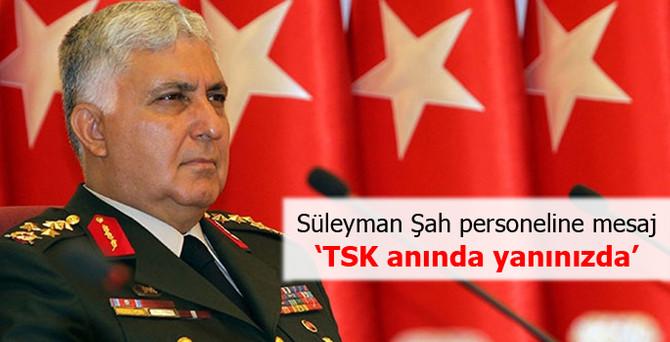 Özel'den 'Süleyman Şah' personeline mesaj