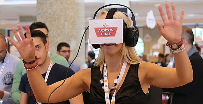 Webit'te 'sanal gerçeklik gözlüğü' ilgi gördü