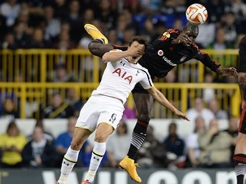 Beşiktaş,Tottenham ile berabere kaldı