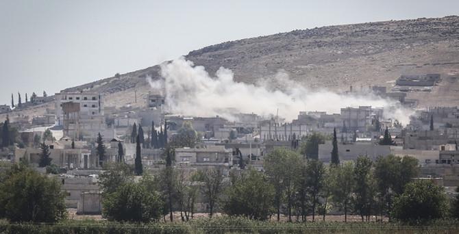 Kobani'de çatışma, Suruç'ta müdahale