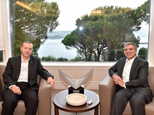 Erdoğan'dan Gül'e bayram ziyareti