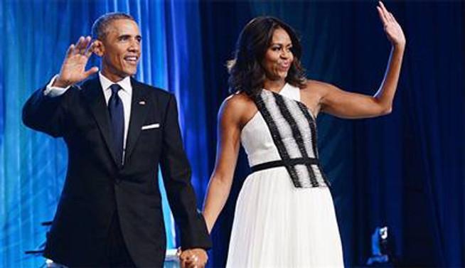 Obama çifti 22. yıllarını kutladı