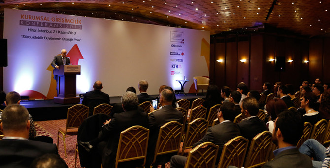 Kurumiçi Girişimcilik Konferansı'na sayılı günler