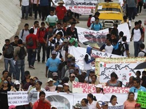 Meksika'da kayıplara öfke sokaklara taştı