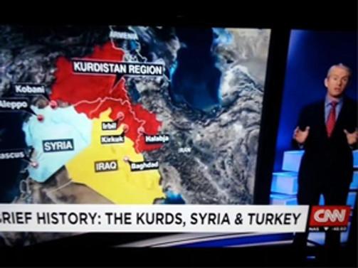 CNN yayınladığı harita için 'hata yok' dedi