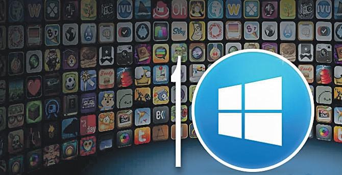 Microsoft Windows 10'un perdesini açtı
