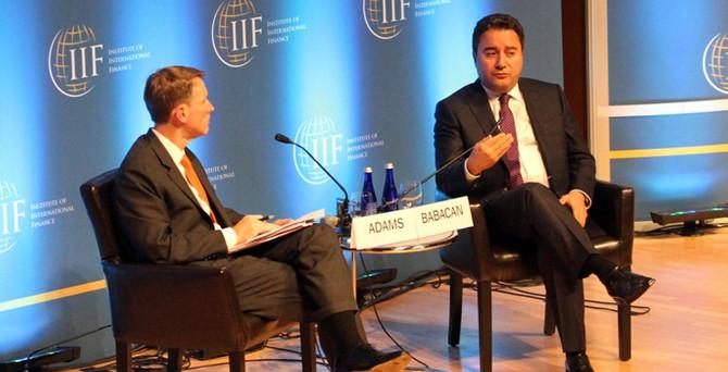 IFF Başkanı sordu, Babacan Türkiye'yi anlattı