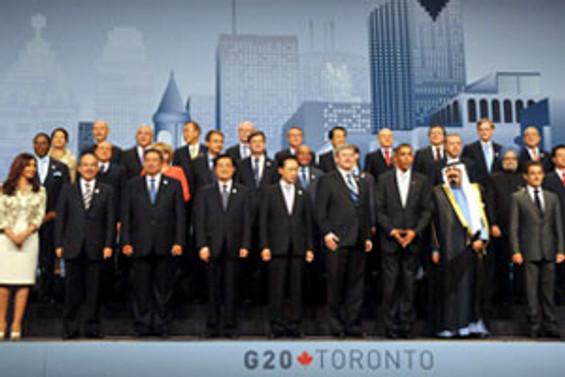 G-20 zirvesi Dövüş Kulübü'ne döndü