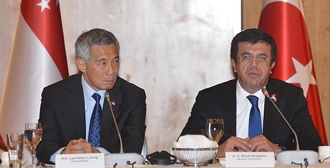 Zeybekci'den Singapurlu şirketlere yatırım çağrısı