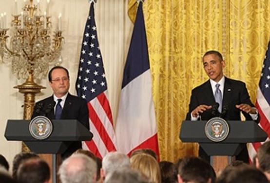 Obama ile Hollande IŞİD ve Ebola'yı görüştü