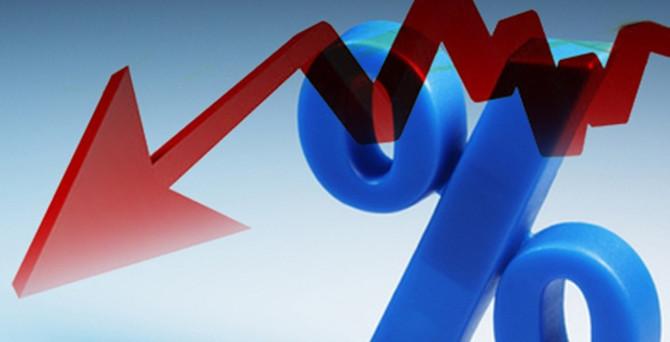 Faizler 2013 seviyelerine düştü