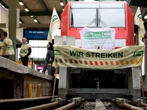 Almanya'da makinistler iş bırakıyor