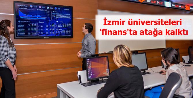 İzmir üniversiteleri 'finans'ta atağa kalktı