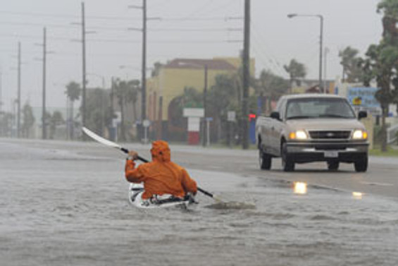 Alex Kasırgası ham petrolü sahile sürüklüyor