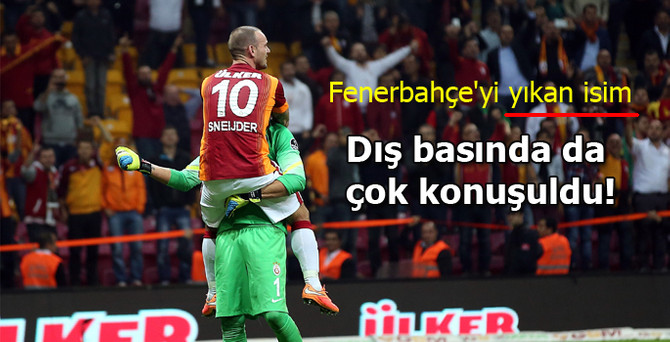 Sneijder'ın golleri, Avrupa'yı da mest etti