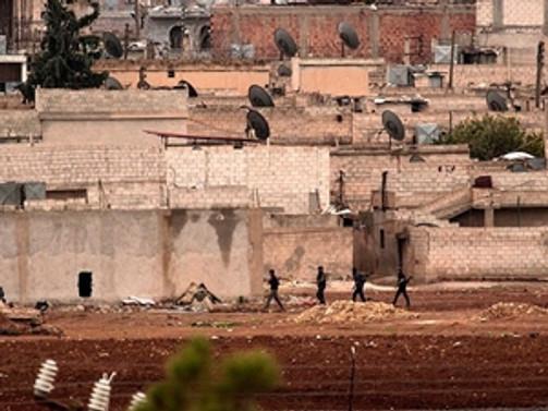 Kobani'de çatışmalar azaldı