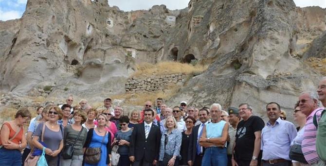 Kayseri turizm hedefleri için 'rotalar'ı çizdi
