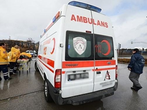 Hastanenin atık bölümü patladı: 1 yaralı
