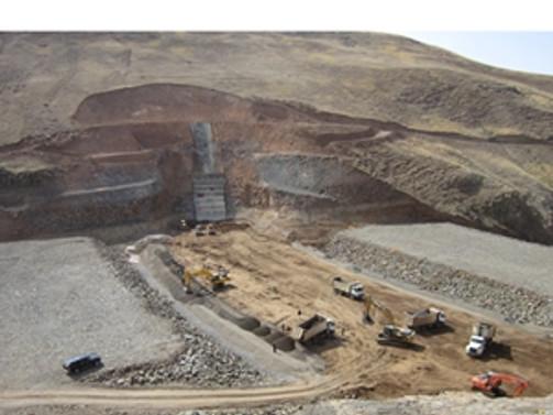 Morgedik Barajı su tutmaya başlayacak