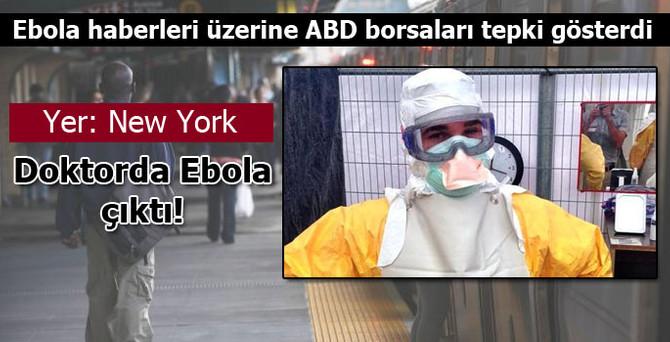 New York'ta ilk Ebola vakası!