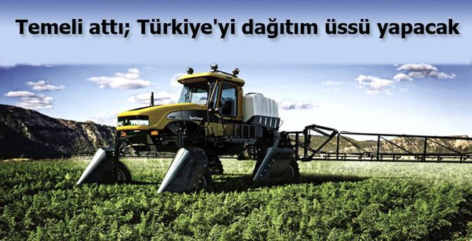 AGCO, Türkiye'yi dağıtım üssü yapacak