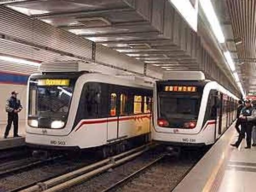 İzmir Metrosu için 38,5 milyon euroluk kredi