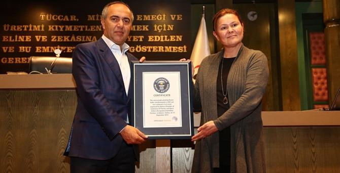 ATO, Guinness Rekorlar Kitabı'na girdi