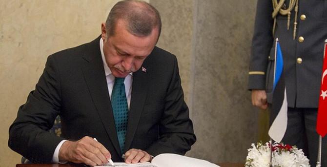 Cumhurbaşkanı Erdoğan HSYK üyelerini seçti