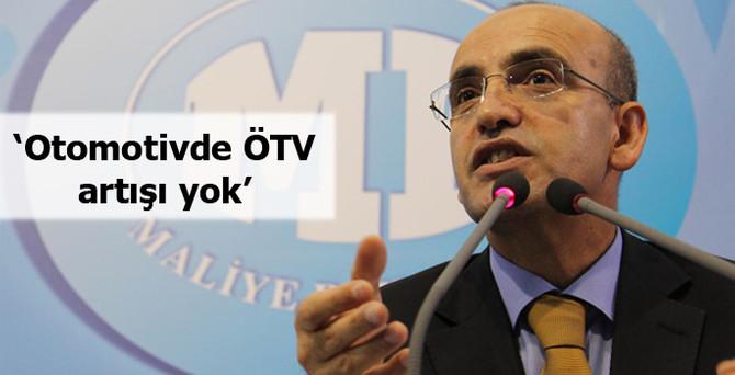 Bakan Şimşek'ten 'otomotivde ÖTV' açıklaması