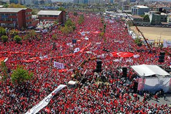 Çağlayan İstanbul'un en büyük meydanı oluyor