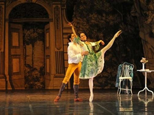 Goethe klasiği bale sahnesinde