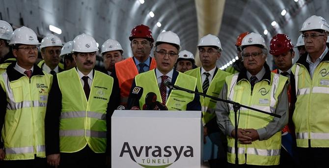 Avrasya Tüneli'nin geçiş ücreti 4 dolar artı KDV