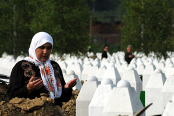 Srebrenica katliamı anılıyor