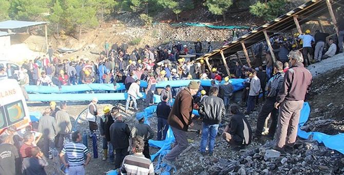 Karaman'da maden kazası