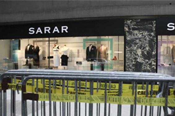 Sarar'a soygun şoku