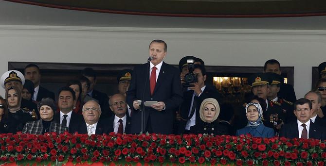 Cumhurbaşkanı Erdoğan AKM'de konuştu