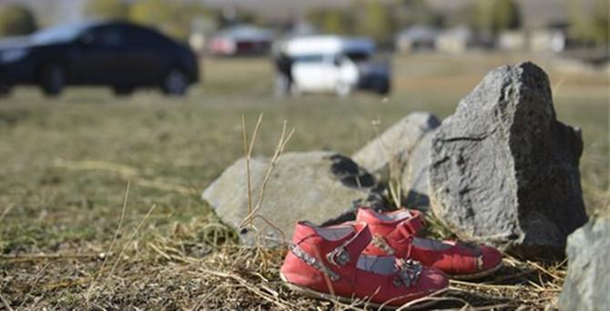 Küçük Nehir'in ayakkabıları bulundu