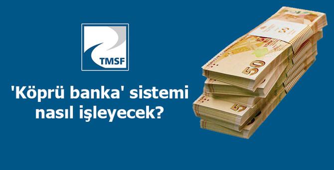 TMSF'nin 'köprü banka' sistemi nasıl işleyecek?